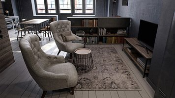 Online design Transitional Studio by lila n. thumbnail