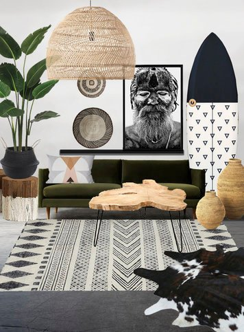 Online design Eclectic Living Room by Dominika Z. thumbnail