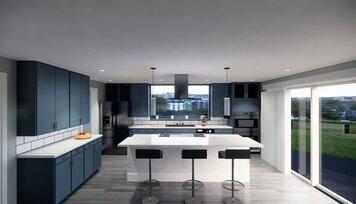 Online design Modern Kitchen by RoWanna L. thumbnail