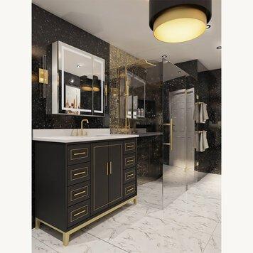 Online design Glamorous Bathroom by Iulia B. thumbnail