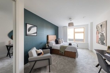 Online design Contemporary Bedroom by Monika V. thumbnail