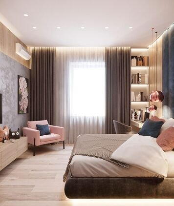 Online design Modern Bedroom by Fereshteh H. thumbnail