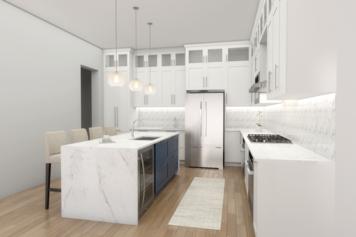 Online design Contemporary Kitchen by Picharat A.  thumbnail