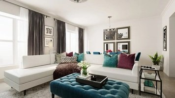 Online design Glamorous Combined Living/Dining by Rachel H. thumbnail