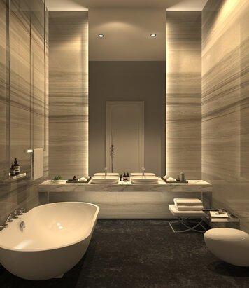 Online design Modern Bathroom by Vasant L. thumbnail