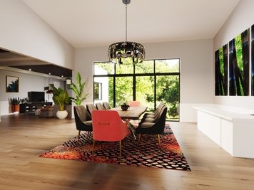 Online design Eclectic Dining Room by Jessica S. thumbnail
