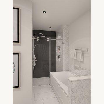 Online design Transitional Bathroom by Iulia B. thumbnail