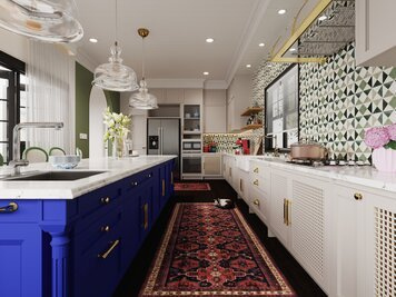 Online design Eclectic Kitchen by Aida A. thumbnail