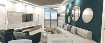 Online design Beach Living Room by mujtaba m. thumbnail
