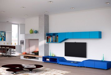 Online design Contemporary Living Room by Kira L. thumbnail