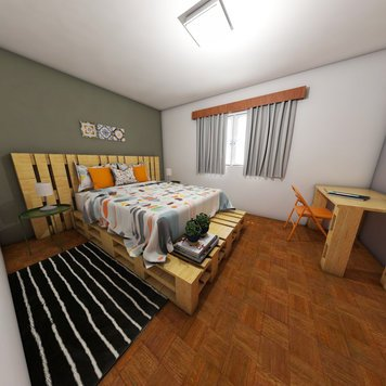 Online design Modern Bedroom by Jessica S. thumbnail