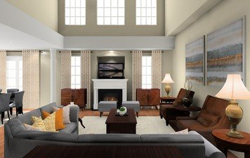 Online design Traditional Living Room by Noraina Aina M. thumbnail