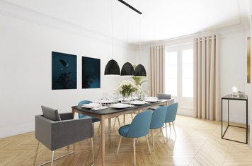 Online design Contemporary Dining Room by Romain D. thumbnail