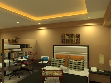 Online design Contemporary Bedroom by Elvin A. thumbnail