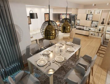 Online design Contemporary Dining Room by Natasa P. thumbnail