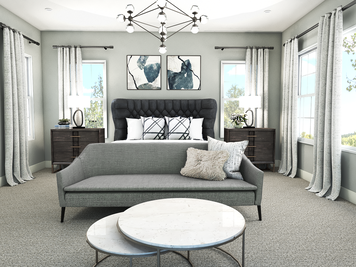 Online design Contemporary Bedroom by Taron H. thumbnail