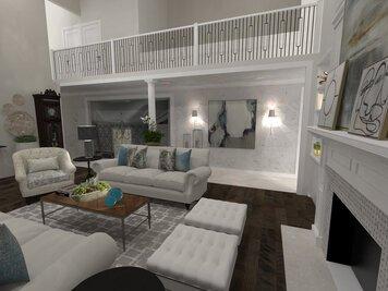 Online design Transitional Living Room by Jatnna M. thumbnail