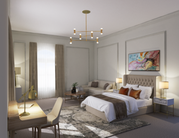 Online design Transitional Bedroom by Vale G. thumbnail