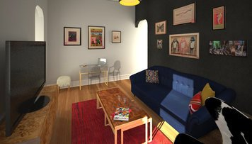 Online design Eclectic Living Room by Anna T thumbnail