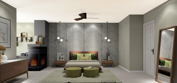 Online design Modern Bedroom by Noraina Aina M. thumbnail
