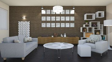 Online design Contemporary Living Room by Jas D. thumbnail