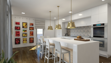 Online design Modern Kitchen by Mary B.  thumbnail