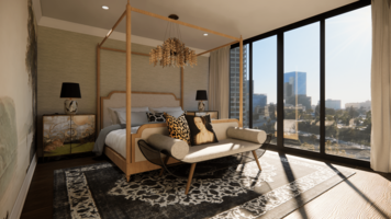 Online design Contemporary Bedroom by Matthew J. thumbnail