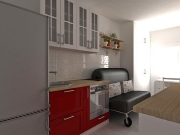 Online design Country/Cottage Kitchen by Dragana V. thumbnail