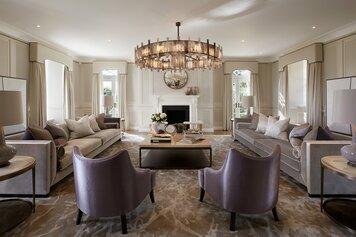 Online design Glamorous Living Room by Ilaria C. thumbnail