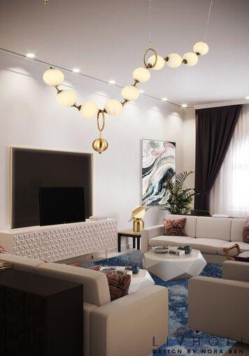 Online design Glamorous Living Room by Nora B. thumbnail