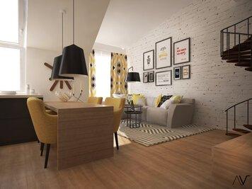 Online design Modern Dining Room by Dominika Z. thumbnail