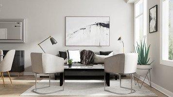 Online design Modern Living Room by Casey H. thumbnail