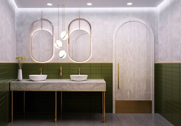 Online design Modern Bathroom by Beyzanur K. thumbnail
