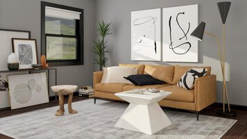 Online design Contemporary Living Room by Aimee M. thumbnail