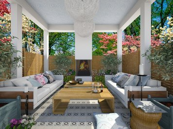Online design Contemporary Patio by Dale C. thumbnail