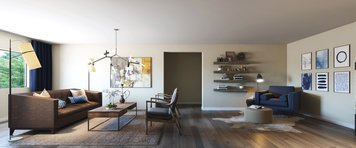 Online design Contemporary Living Room by Tera S. thumbnail