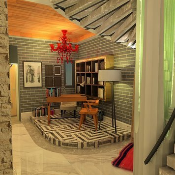 Online design Transitional Home/Small Office by Ahmed E. thumbnail