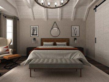 Online design Transitional Bedroom by Dragana V. thumbnail