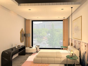 Online design Contemporary Bedroom by Ornela N. thumbnail