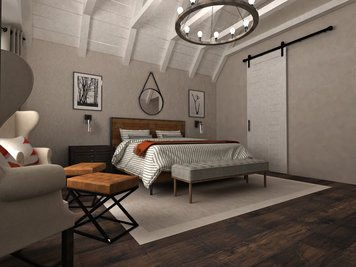 Online design Country/Cottage Bedroom by Dragana V. thumbnail