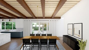 Online design Contemporary Dining Room by Ryley B. thumbnail