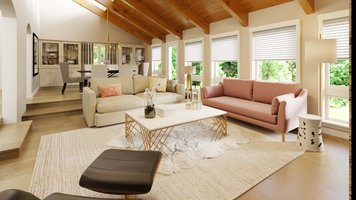 Online design Contemporary Combined Living/Dining by Tera S. thumbnail