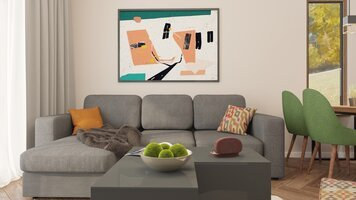 Online design Modern Living Room by Mihajlo S. thumbnail