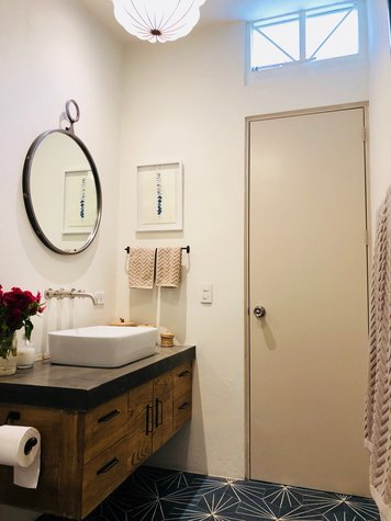 Online design Eclectic Bathroom by Christine M. thumbnail