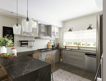 Online design Transitional Kitchen by Vale G. thumbnail