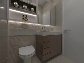 Online design Modern Bathroom by Luciana N. thumbnail