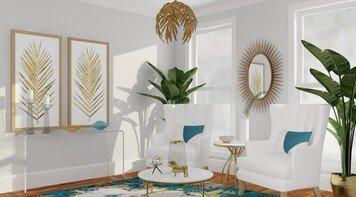 Online design Glamorous Hallway/Entry by Anna P. thumbnail