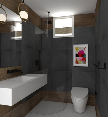 Online design Contemporary Bathroom by Jessica S. thumbnail