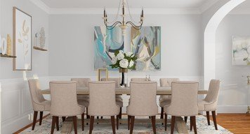 Online design Traditional Dining Room by Anna P. thumbnail
