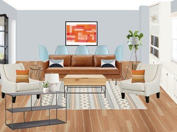 Online design Contemporary Living Room by Amisha D. thumbnail